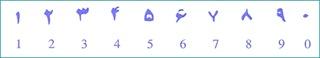 الأرقام العربية !!!....